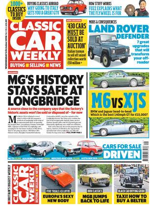 Classic Car Weekly NR.40 2016