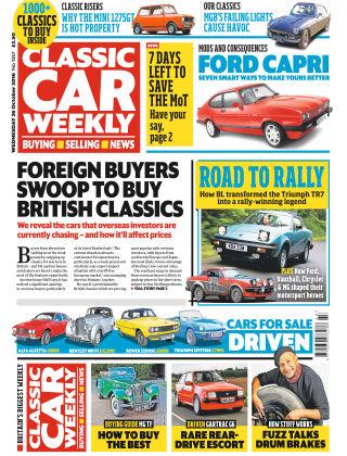 Classic Car Weekly NR.43 2016