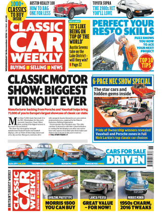 Classic Car Weekly NR.46 2016