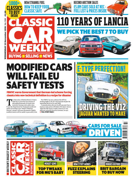 Classic Car Weekly November 23, 2016 00:00