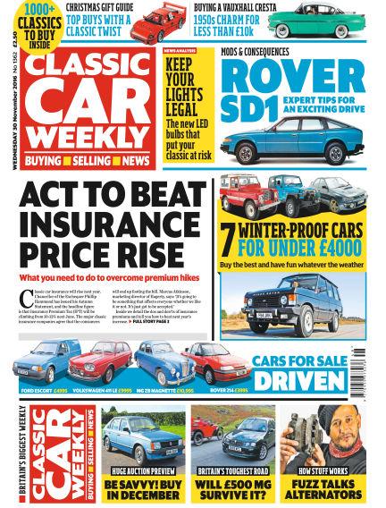 Classic Car Weekly November 30, 2016 00:00