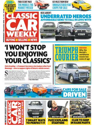 Classic Car Weekly NR.49 2016