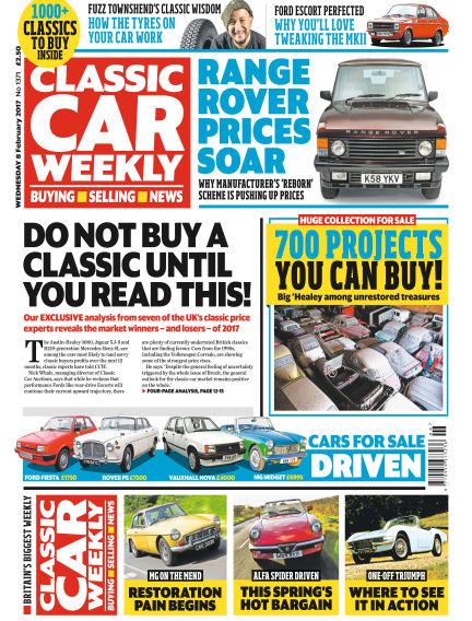 Classic Car Weekly February 08, 2017 00:00
