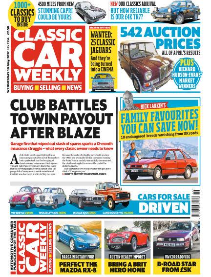 Classic Car Weekly May 10, 2017 00:00