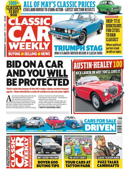 Classic Car Weekly June 07, 2017 00:00