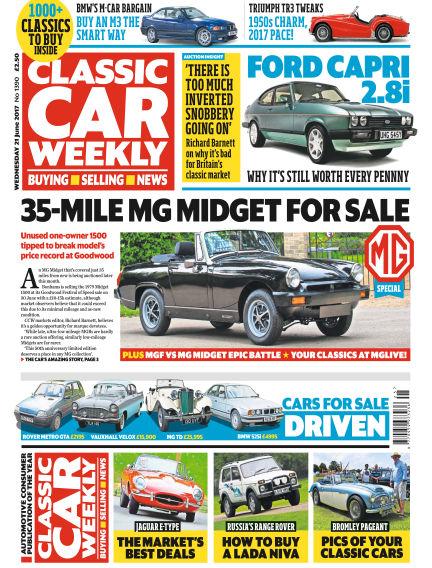 Classic Car Weekly June 21, 2017 00:00