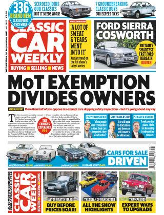 Classic Car Weekly NR.38 2017