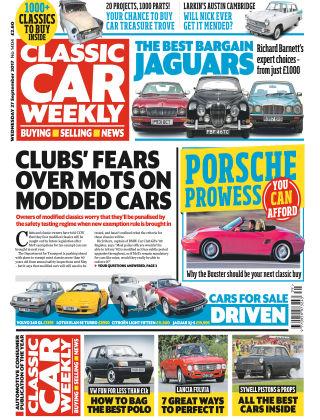 Classic Car Weekly NR.39 2017