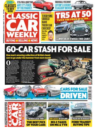 Classic Car Weekly NR.40 2017