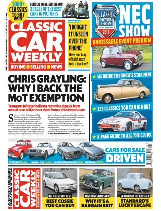 Classic Car Weekly NR.45 2017