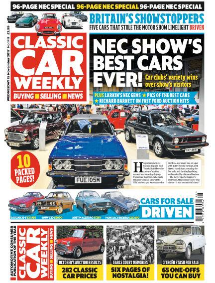 Classic Car Weekly November 15, 2017 00:00