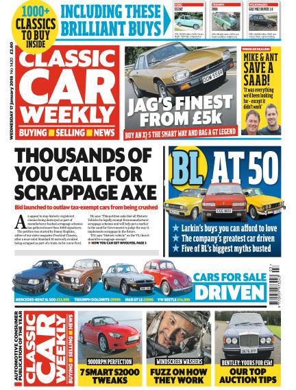 Classic Car Weekly January 17, 2018 00:00