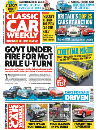Classic Car Weekly Issue 1421