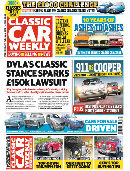 Classic Car Weekly February 07, 2018 00:00