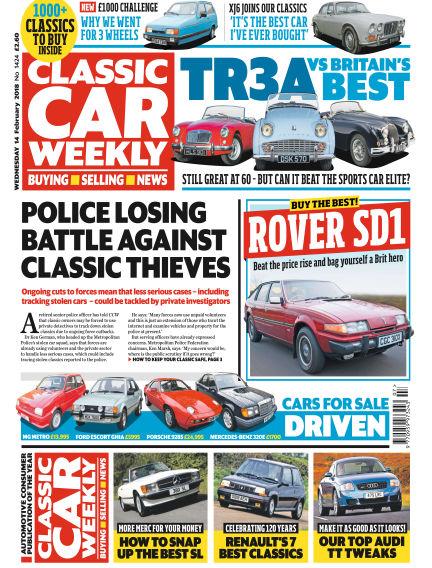 Classic Car Weekly February 14, 2018 00:00