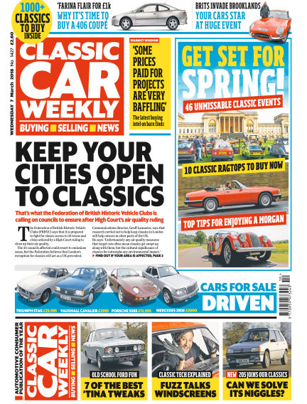 Classic Car Weekly March 07, 2018 00:00