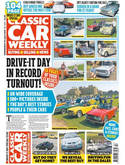 Classic Car Weekly April 25, 2018 00:00