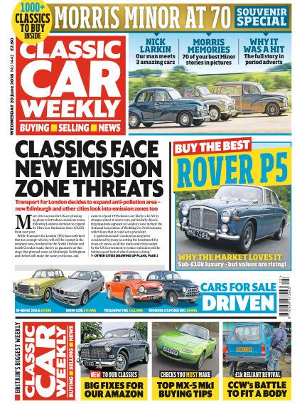 Classic Car Weekly June 20, 2018 00:00