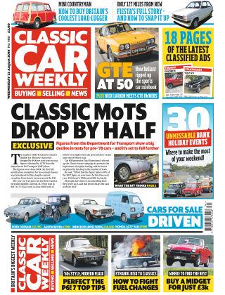 Classic Car Weekly NR.34 2018