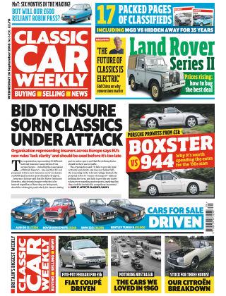 Classic Car Weekly NR.39 2018