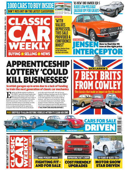 Classic Car Weekly November 21, 2018 00:00