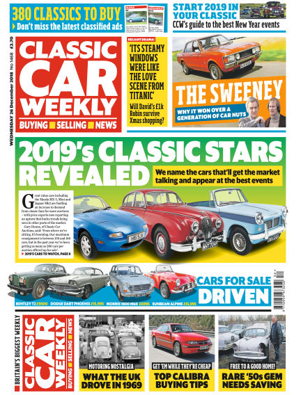 Classic Car Weekly December 28, 2018 00:00
