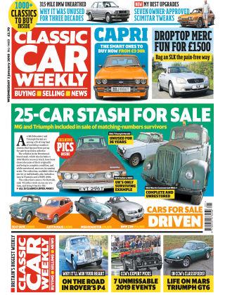 Classic Car Weekly Jan 2 2019
