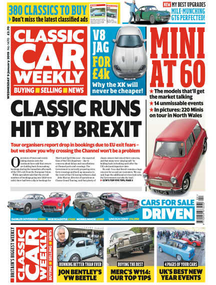 Classic Car Weekly January 09, 2019 00:00