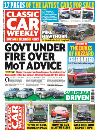 Classic Car Weekly Jan 23 2019