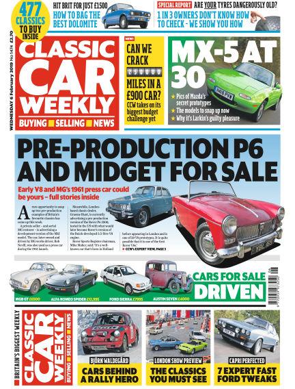Classic Car Weekly February 06, 2019 00:00