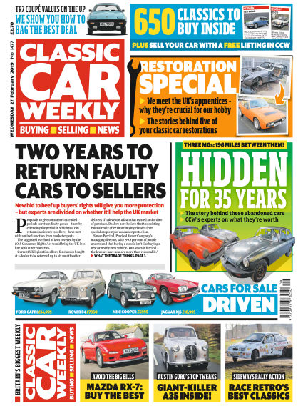 Classic Car Weekly February 27, 2019 00:00