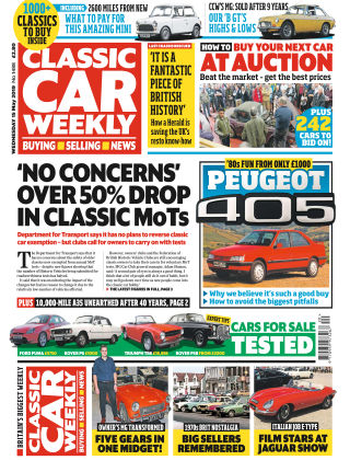 Classic Car Weekly May 15 2019