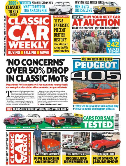 Classic Car Weekly May 15, 2019 00:00