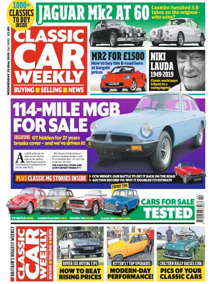 Classic Car Weekly May 29, 2019 00:00