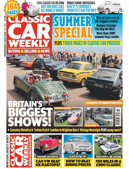 Classic Car Weekly June 05, 2019 00:00