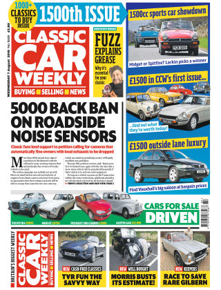 Classic Car Weekly Aug 7 2019