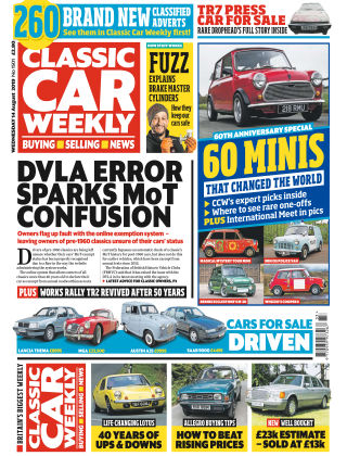 Classic Car Weekly Aug 14 2019