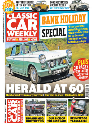 Classic Car Weekly Aug 21 2019