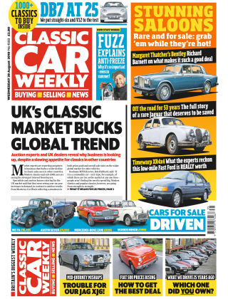 Classic Car Weekly Aug 28 2019