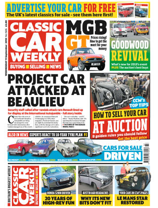 Classic Car Weekly Sep 11 2019