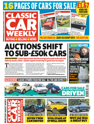 Classic Car Weekly Oct 2 2019