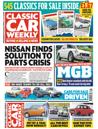 Classic Car Weekly 9th October 2019