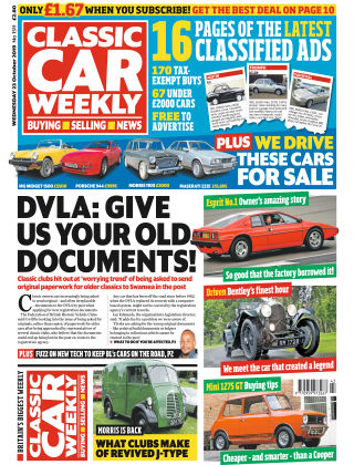 Classic Car Weekly Oct 23 2019