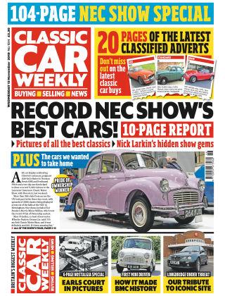 Classic Car Weekly Nov 13 2019