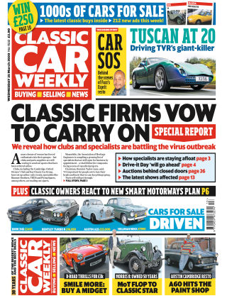 Classic Car Weekly 25th March 2020