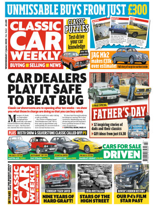 Classic Car Weekly 3rd June 2020