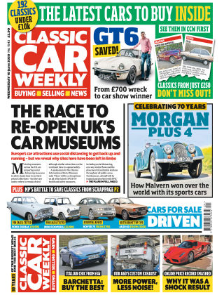 Classic Car Weekly 10th June 2020