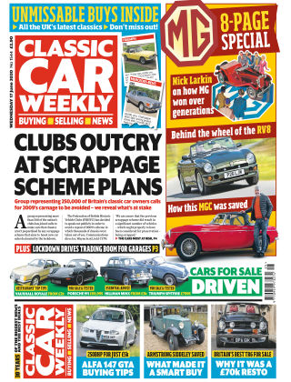 Classic Car Weekly 17th June 2020