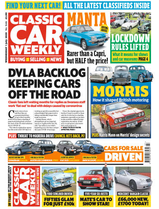 Classic Car Weekly 1st July 2020