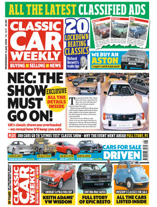 Classic Car Weekly 8th July 2020